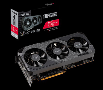 ASUS TUF Gaming X3 Radeon™ RX 5700 OC edition 8GB GDDR6